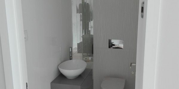 Casa Banho de Serviço