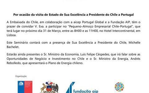 Convite Embaixada Chile